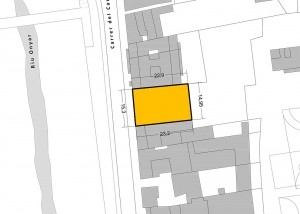 Emplaçament. Solar al c/ Carme, 31-33. Girona. INSNOU