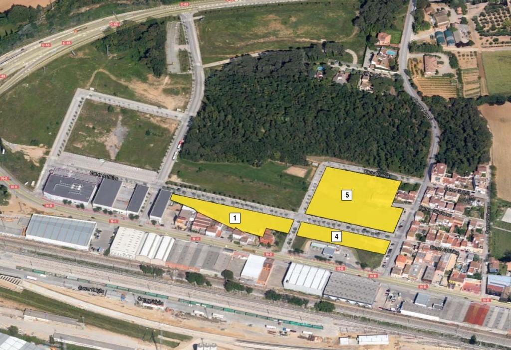 Terrenys per habitatges a la zona Avellaneda, Girona