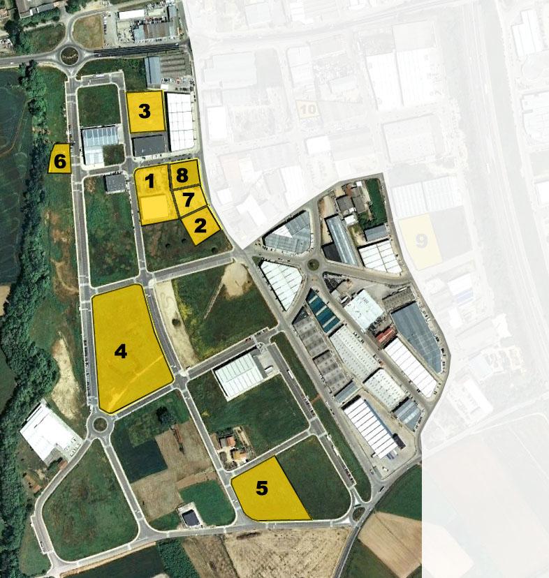 Terrenys Industrials en venda a Montfullà i Torremirona. Bescanó - Salt. Girona.
